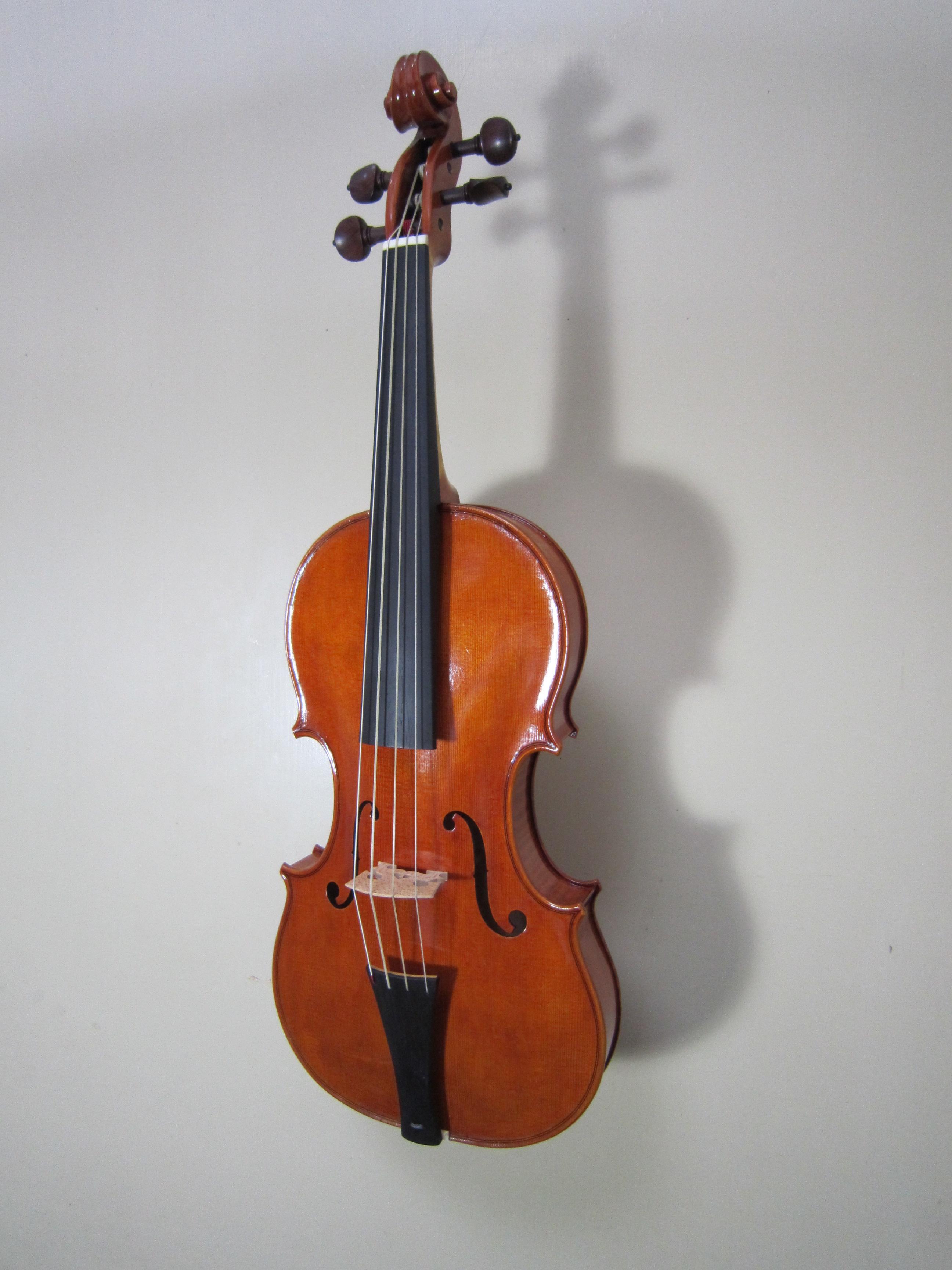 バロックバイオリンが出来ました...